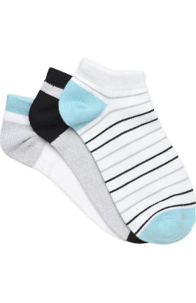 Nurse Mates Women's Silvadur Antimicrobial Anklet Socks 3 Pack