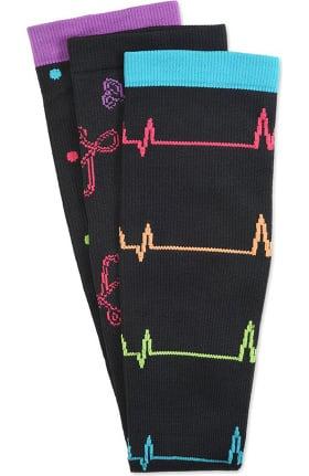 Nurse Mates Women's 12-14mmHg Compression Socks 3 Pack