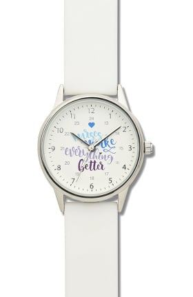 "Nurse Mates Women's 1"" Strap Nurse Watch"
