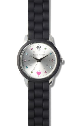 Nurse Mates Women's Sparkle Dot Watch