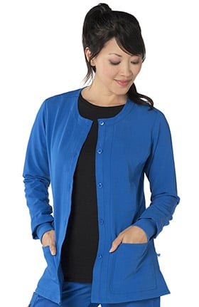 Clearance Nurse Mates Women's Tara Warm Up Scrub Jacket