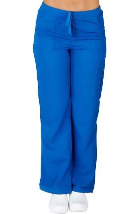 Clearance Ultrasoft Scrubs Women's Drawstring and Elastic Waist Cargo Pant
