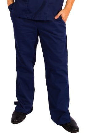 Clearance Natural Uniforms Unisex Flare Leg Scrub Pant