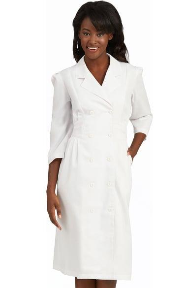 Peaches Uniforms Women S 190 Sleeve Embroidered Waist Scrub