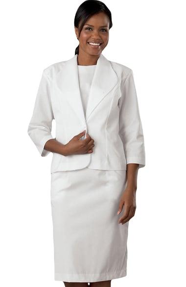 Peaches Uniforms Women S Two Piece Scrub Dress Suit