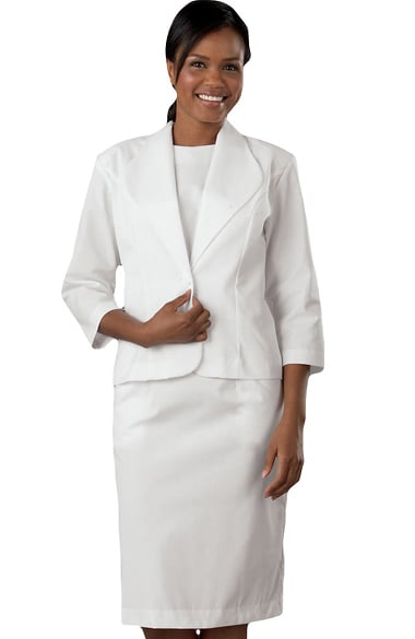 Peaches Uniforms Women S Two Piece Scrub Dress Suit Allheart Com