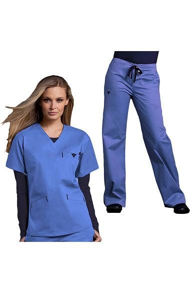 Med Couture Women S Scrub Set Allheart Com