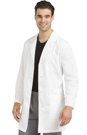 "Med Couture Originals Men's Twill 38"" Lab Coat"