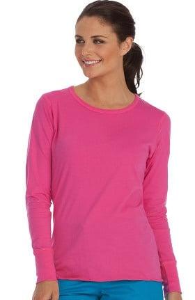 Clearance Peaches Uniforms Women's Long Sleeve Underscrub