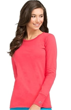 Clearance Peaches Uniforms Women's Long Sleeve Underscrub