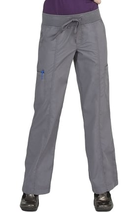 Clearance Med Couture Women's Straight Cut Comfort Scrub Pants