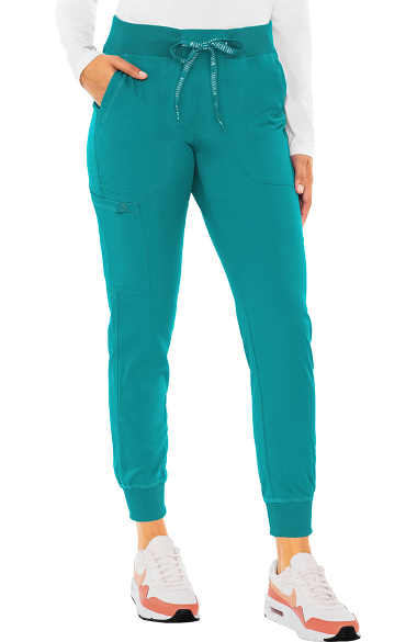 5f925e76636 Touch by Med Couture Women's Jenny Yoga Jogger Scrub Pant | allheart.com