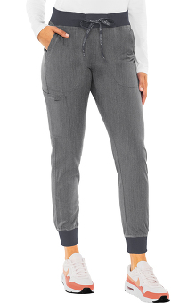 Touch by Med Couture Women's Jenny Yoga Jogger Scrub Pant