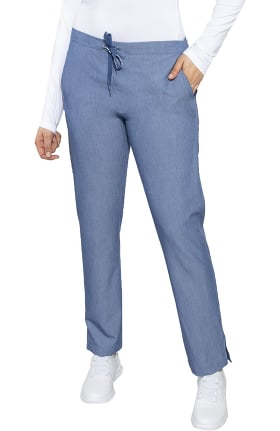Touch by Med Couture Women's Classic Drawstring Scrub Pant