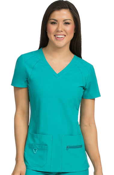 902fdef7cfb Activate by Med Couture Women s Refined V-Neck Solid Scrub Top ...