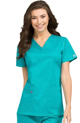 Clearance MC2 by Med Couture Women's Olivia V-Neck Scrub Top
