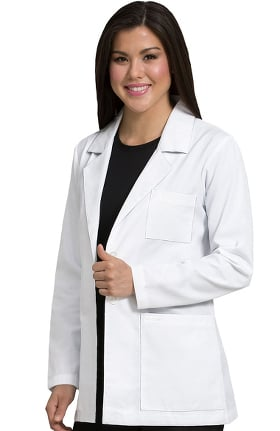 "Med Couture Women's Back Tab Pleat 30"" Lab Coat"