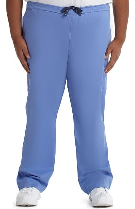 MC2 for Men by Med Couture Fly Front Cargo Scrub Pant