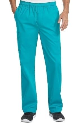 Med Couture Originals Men's Fly Front Cargo Scrub Pant