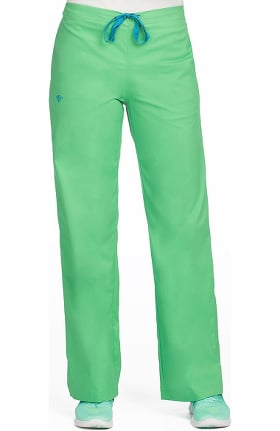 Clearance Med Couture Originals Women's Drawstring Solid Scrub Pant