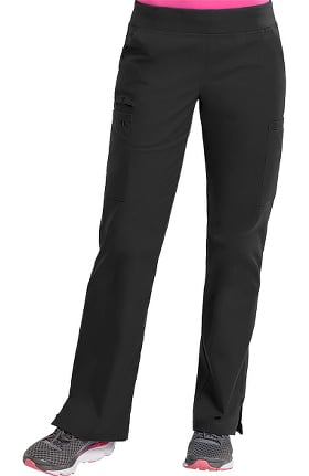 Clearance Med Couture Originals Women's Yoga Knit Waistband Cargo Scrub Pant