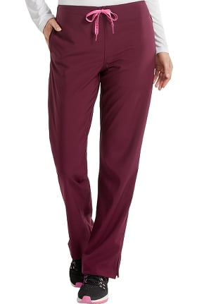 Clearance Energy by Med Couture Women's Grace Drawstring Classic Scrub Pant