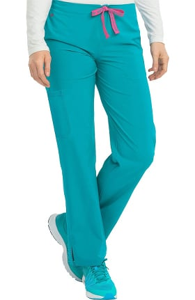 Energy by Med Couture Women's Drawstring Cargo Pocket Scrub Pant