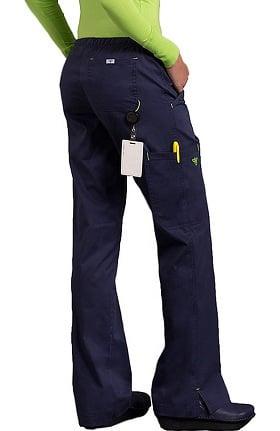 Clearance Med Couture Women's EZ Flex Jr Fit Moda Solid Scrub Pant