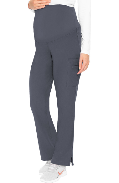 0b02fc699e2 Med Couture Women's Maternity 4 Way Stretch Cargo Scrub Pant   allheart.com