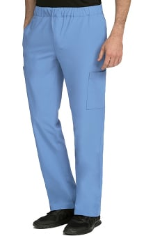 Activate by Med Couture Men's Sport Relaxed Straight Leg Scrub Pant