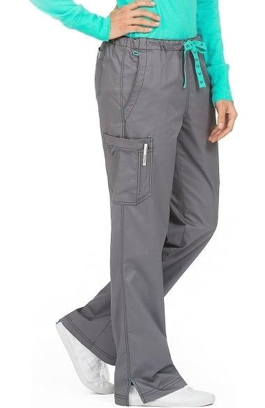 c3c3d24c3d3 Med Couture Originals Women's Layla Drawstring Cargo Scrub Pant