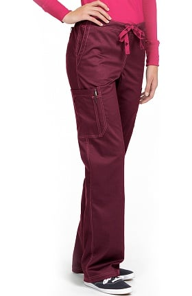 Clearance Med Couture Originals Women's Layla Drawstring Cargo Scrub Pant