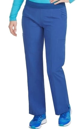 Clearance Energy by Med Couture Women's Paige Knit Waistband Cargo Yoga Scrub Pant
