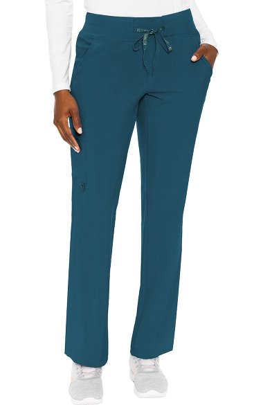 9c2860a21b8 Activate by Med Couture Women's Transformer Knit Waistband Drawstring Scrub  Pant