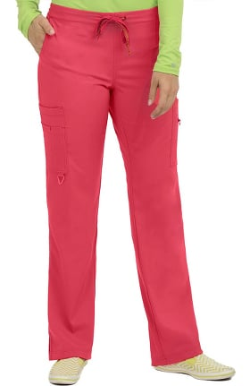 Clearance Activate by Med Couture Women's Transformer Knit Waistband Drawstring Scrub Pant