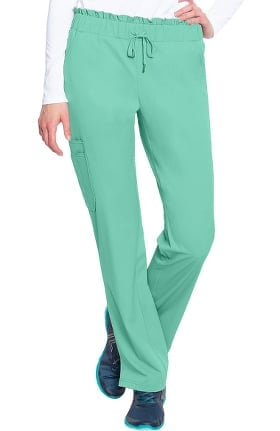 Peaches by Med Couture Women's Merrow Waist Scrub Pant