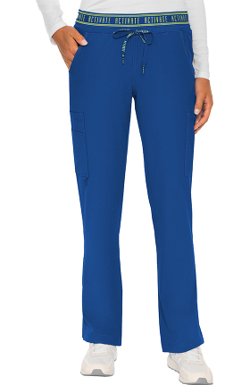 Activate by Med Couture Women's Elastic Waist Scrub Pant
