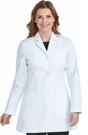 "Med Couture Boutique Women's Katherine 35"" Lab Coat"