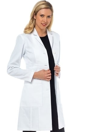 "Med Couture Boutique Women's Olivia 36"" Lab Coat"