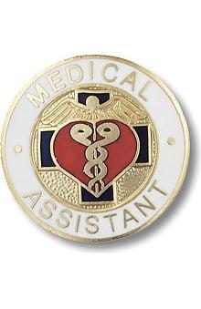 Prestige Medical Emblem Pin Medical Assistant