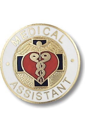 Prestige Medical Emblem Pin Medical Assistant