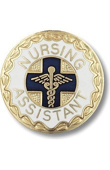 Prestige Medical Emblem Pin Nursing Assistant