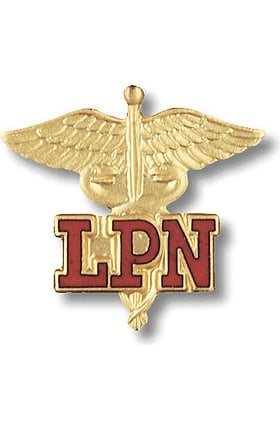 Prestige Medical Emblem Pin Licensed Practical Nurse