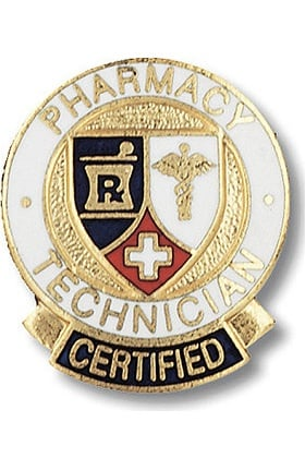 Prestige Medical Pharmacy Technician, Certified Pin
