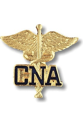 Prestige Medical Emblem Pin Certified Nursing Assistant