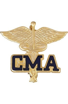 Prestige Medical Emblem Pin Certified Medical Assistant