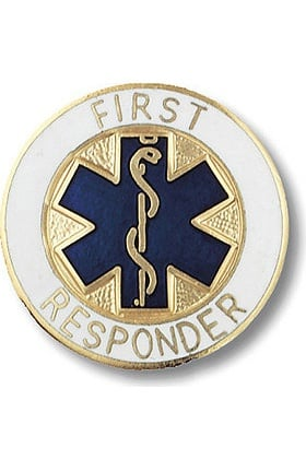 Prestige Medical Emblem Pin First Responder