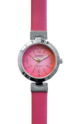 Clearance Prestige Medical Women's High-Fashion Leather Watch