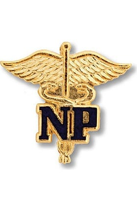 Prestige Medical Emblem Pin Nurse Practitioner