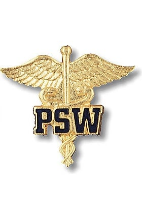 Prestige Medical Emblem Pin Patient Service Worker